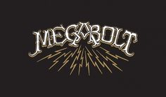 Megabolt / Jon Contino / Megabolt Tee #apparel #contino #jon #design #tshirt #american #megabolt #typography