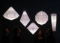 fuseproject: Swarovski Amplify #lamp #design