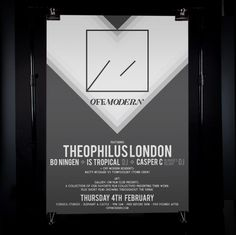 James Kirkups portfolio #off #designer #modern #london #portfolio #graphic #james #poster #kirkup