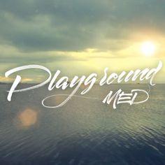 Playground Med #calligraphy #type #brush