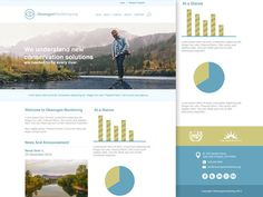 Free Company Landing Page PSD Template
