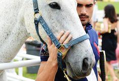 JAK & JIL BLOG #fashion #man #horse