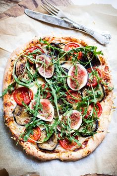 squaremeal:(via lunchtime / Time for pizza! (posh pizza, that!))