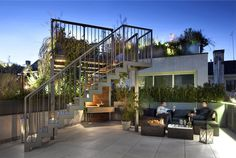 Luxurious Top Apartment with Roof Garden -  #decor, #interior, #homedecor, #architecture, #house, #home,