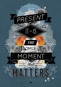 The Present Art Print by Matthew Kavan Brooks | Society6 #collage #typography