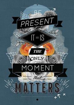 The Present Art Print by Matthew Kavan Brooks   Society6