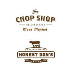 """I like some aspects of the """"Americana"""" feel the Honest Don's logo gives #logo #branding #typography"""