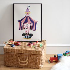 #nordic #design #graphic #illustration #danish#simple #nordicliving #living #interior #kids #room #poster #clown #circus #fun #purple