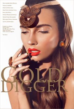 Golddigger #styling #volt #cafe #photography #fashion #layout #magazine #beauty