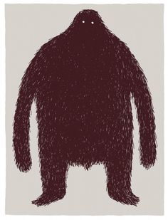 The hairy monster - Tom Gauld #monster #tom #gauld