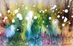 33284484715551894_jEyH4o2k_f.jpg (450×286) #watercolor #cityscape