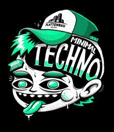 some Illustration 2010/11 on Behance #techno #design #illustration #textures #character