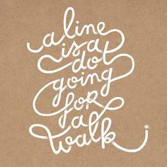 Tutte le dimensioni  A line is a dot going for a walk   Flickr – Condivisione di foto!