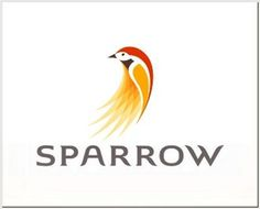 FFFFOUND! | Logo Design Inspiration: 54 Creative Logos Hand-picked From Logopond #sparrow #logo #identity