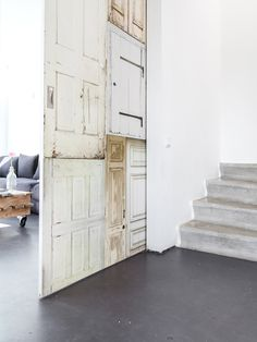 Reclaimed sliding door. Photo by Sonja Velda Fotografie. #simplicity #slidingdoor #sonjaveldafotografie