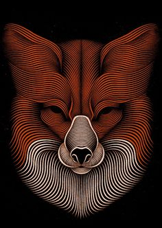 Fox on Behance #fox