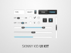 Skinny kid kit Free Psd. See more inspiration related to Button, Kid, User, Form, Field, Interface, User interface, Horizontal, Kit, Scrollbar and Skinny on Freepik.