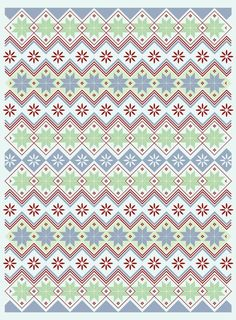nordic02 #pattern #flowers #scandinavian #tribal #nordic