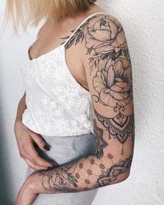 My kind of madness 💔 Tattoo sleeve
