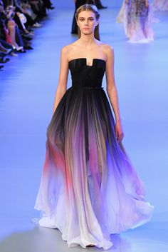 journaldelamode: Elie Saab Haute Couture Spring 2014 Paris #fashion #spring