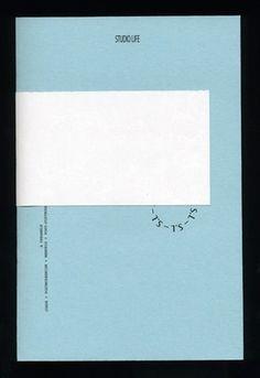 FFFFOUND! | I am Joel Evey #cover #blue