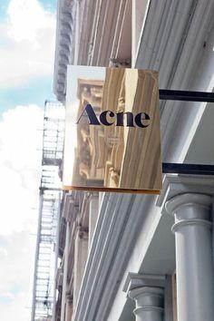 Acne Signage