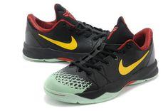 Mens Nike Shoes Zoom Kobe Venomenon Iv 4 Black Yellow Red