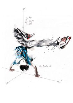 Break Dance - Volnorez #illustration