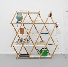 Set by Stephanie Hornig #minimal design #minimalist bookshelf