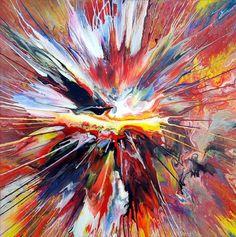 Liquid Explosion Painting! | Flickr: Intercambio de fotos #paint #colour #art