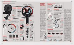 IL - Mountain bike per tutti | Flickr - Photo Sharing! #mountain #infographic #muzzi #franchi #bike #magazine #francesco