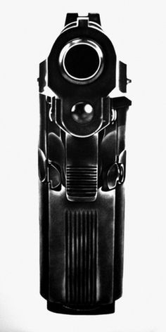 Designersgotoheaven.com Gun. Via nevver - Designers Go To Heaven #gun #photography