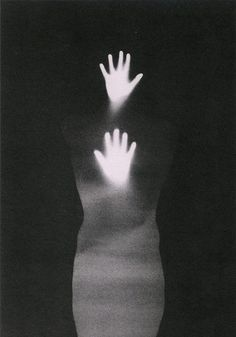 Bruce Conner, Sound of Two Hand Angel (Detail), 1974 #silhouette #black #figure