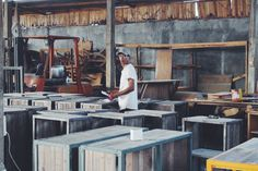 #indonesia #explore #travel #wood #furniture #cement #workshop #warehouse #handmade #workspace
