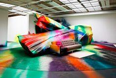 Katharina Grosse | PICDIT #art #painting #installation