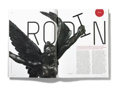 RA #design #typography #layout #magazine