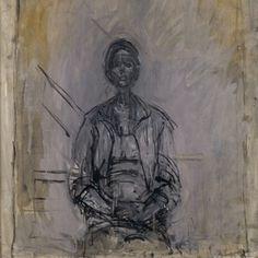 Alberto Giacometti - Kunsthal #giacometti #painting