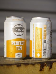 Tin Roof Bewing Co. #packaging