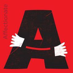 FFFFOUND! #illustration #typography #type #white #red #black #love #fun #valentines