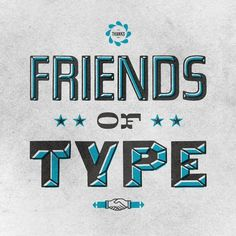 Friends of Type page 26 #icon #print #of #letterpress #type #logo #overprint #friends