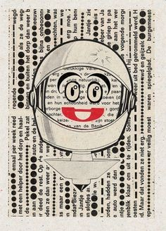 David Boon / Pinterest #print #graphic #retro #vintage #collage