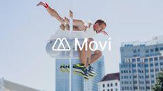 Movi Logo Lock-up #logo #identity #branch #movi #branding
