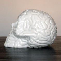 Skull Brain by Emilio Garcia #art