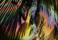 Davy Evans - psychedelic video works for The Xx - Coexist album