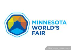 Minnesota World's Fair logo by Urso Chappell #logo #fair #worlds