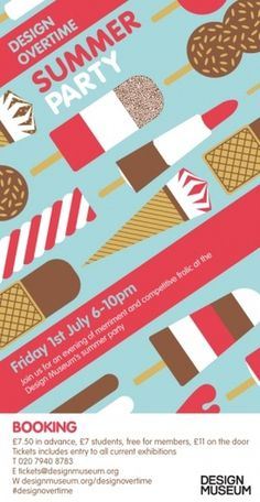 Summer Party tonight from 6 - 10pm #ice