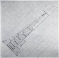 Megastructure « A-01 #architecture #drawing #will insley #insley