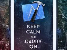 Dribbble - Keep Calm Xcode by Michael Flarup #apple #carry #and #xcode #calm #keep #typography