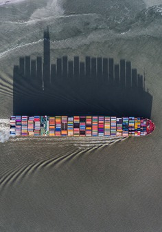 Manmade Patterns and Uncanny Shadows Photographed From Above by JP and Mike Andrews | Colossal