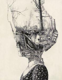 Cherchez La Femme #illustration